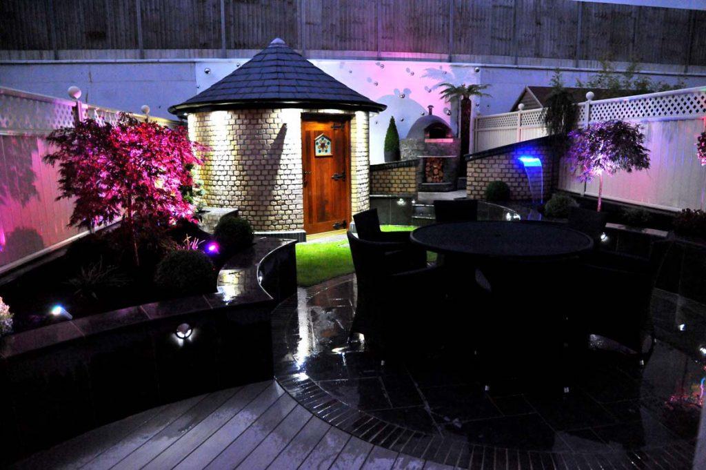 Lehenaghmore Garden By Night 4
